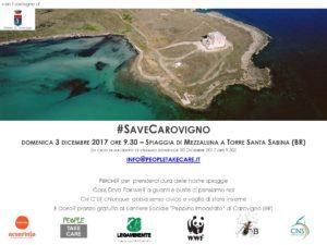 #SAVECarovigno